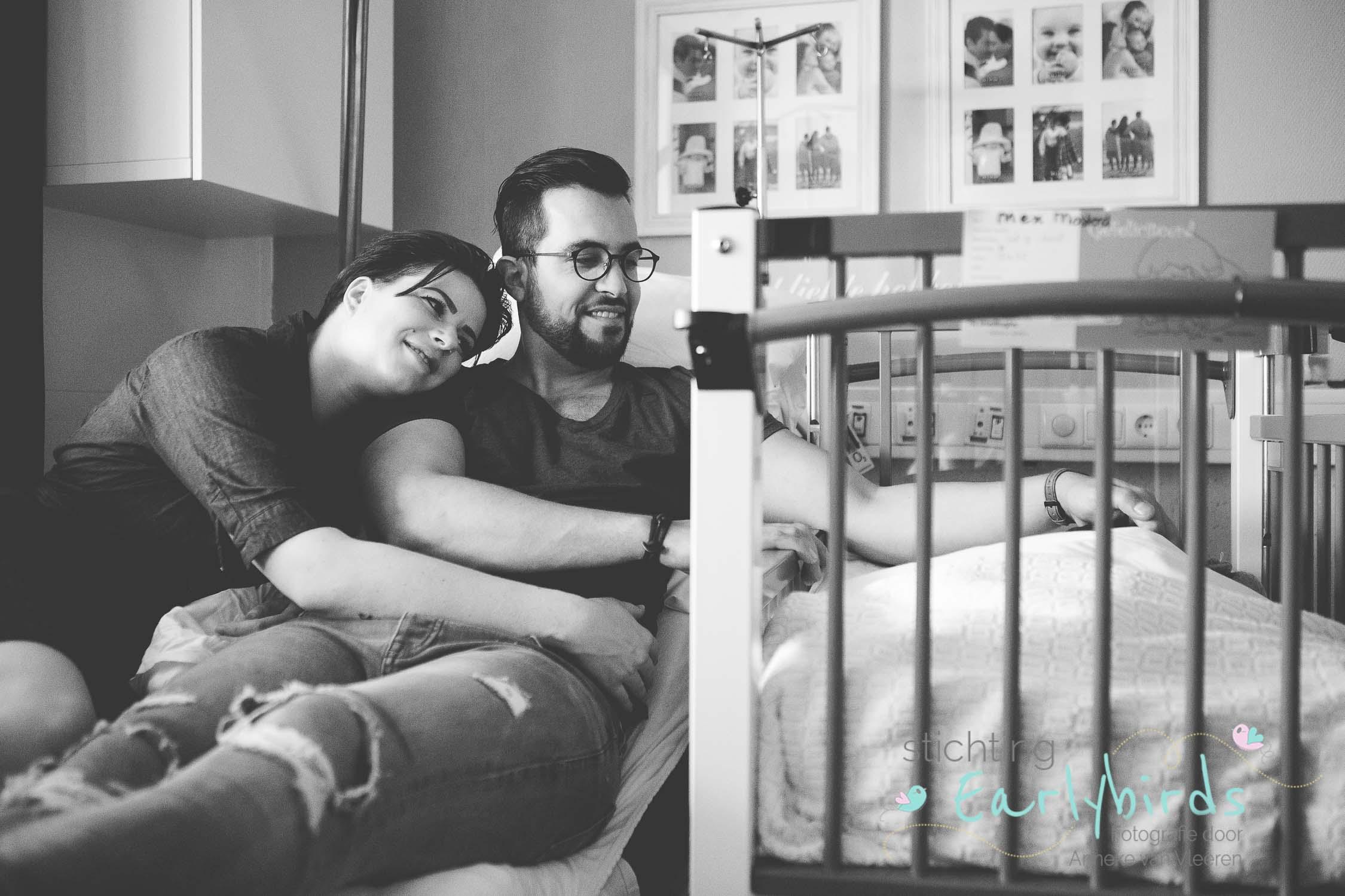 Newborn reportage voor Stichting Earlybirds: Mex