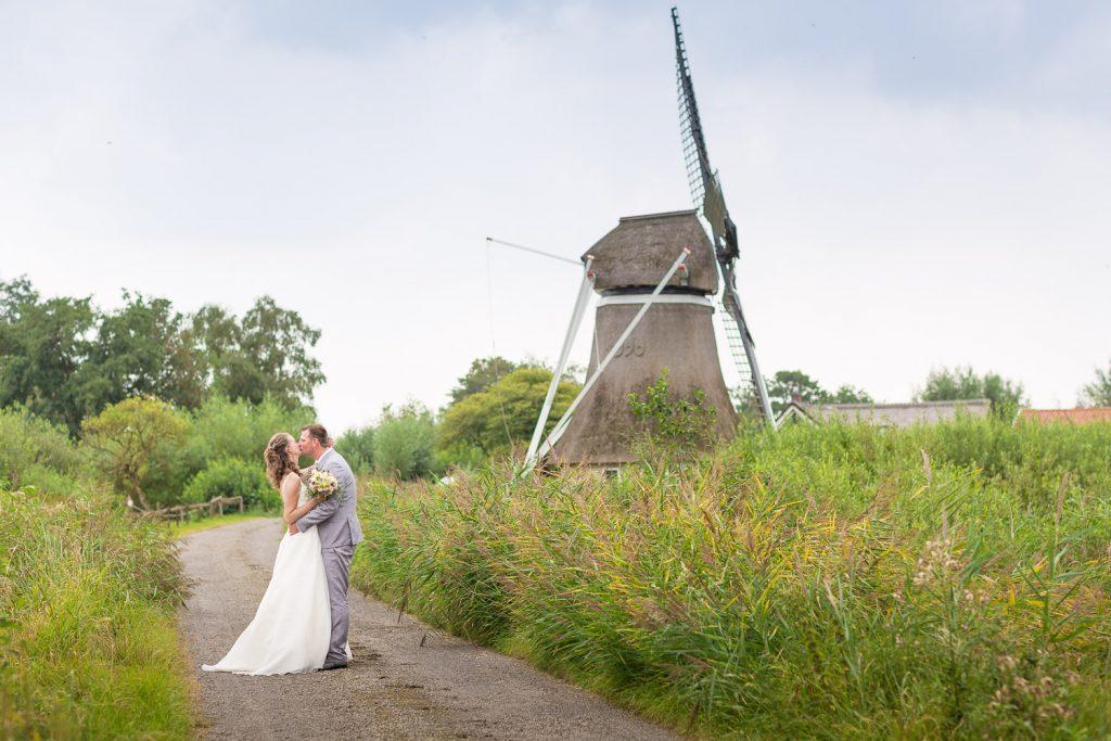 bruidspaar molen