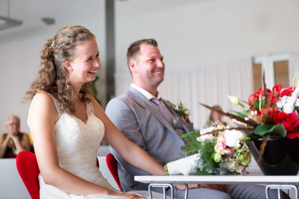 bruidspaar ceremonie