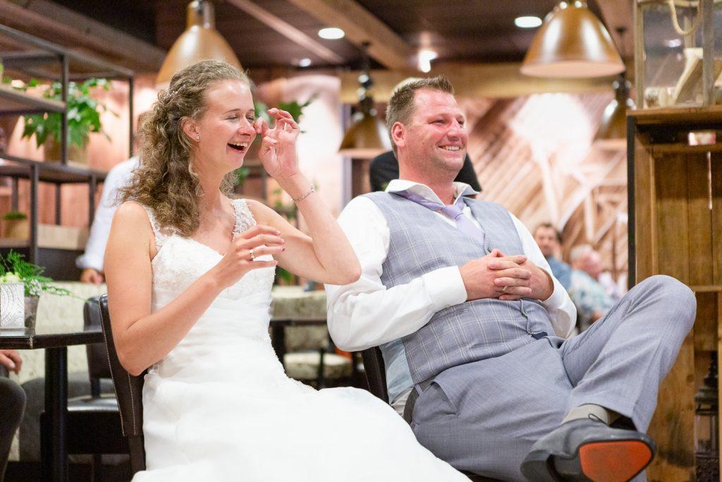 emoties bruidspaar