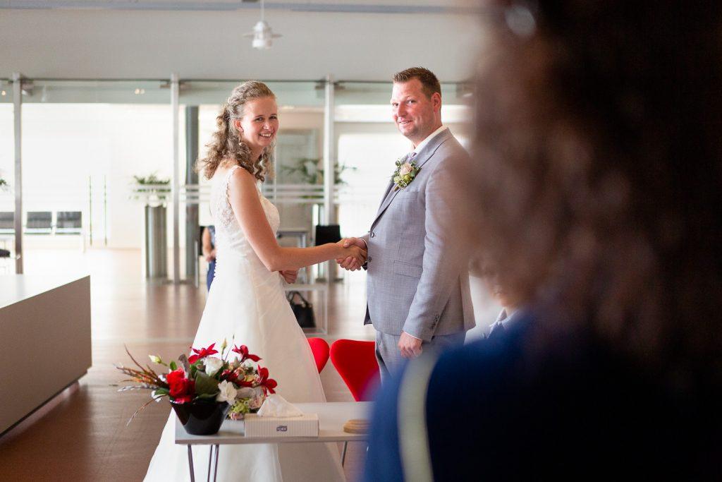 bruidspaar ja-woord