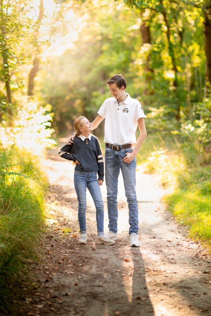 foto broer en zus