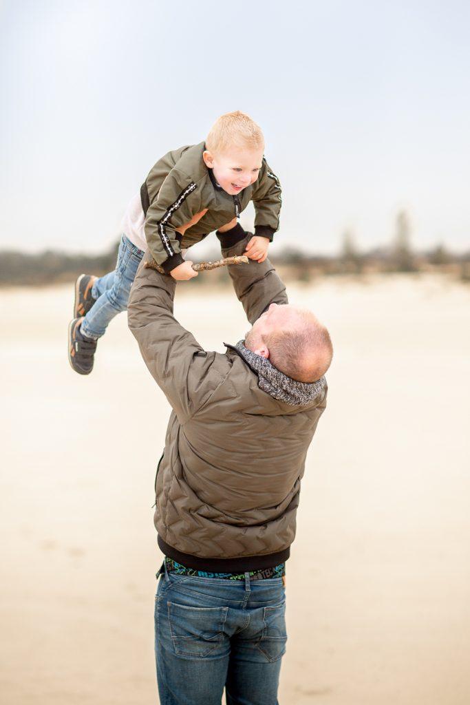 spelen met papa